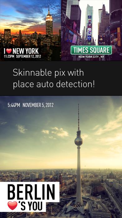 PhotoPlace - photo checkins Screenshot