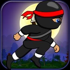 Activities of Baby Ninja Runs Behind Temple