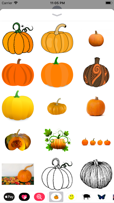 点击获取My Pumpkin Stickers