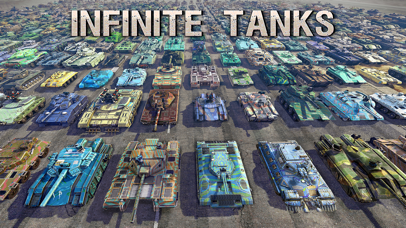 Screenshot from Infinite Tanks