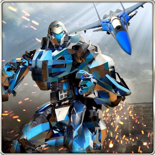 Робот-самолет-трансформер