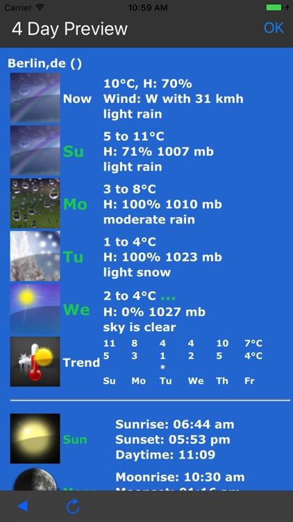 Earth Weather Lite screenshot-3