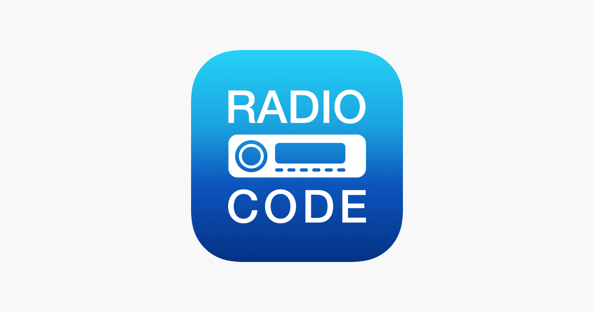 Radio Code For Ford M On The App Store