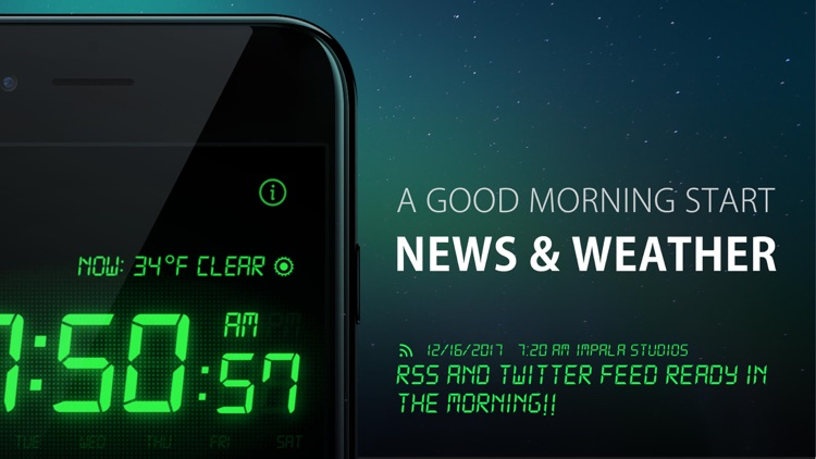 Alarm Clock HD - Music Alarms screenshot-4