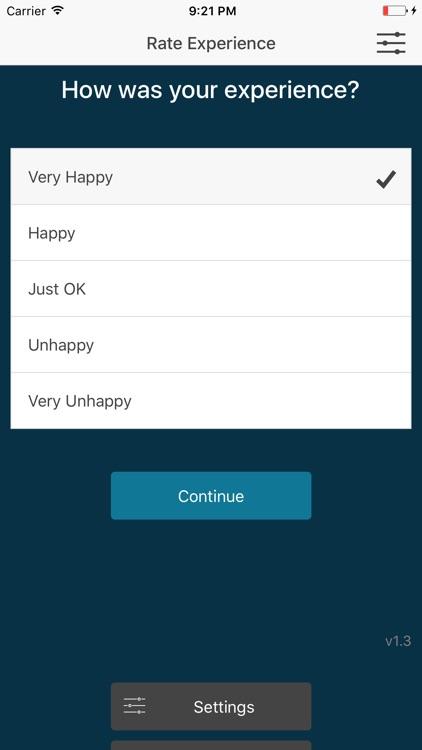 Customer Feedback Survey App