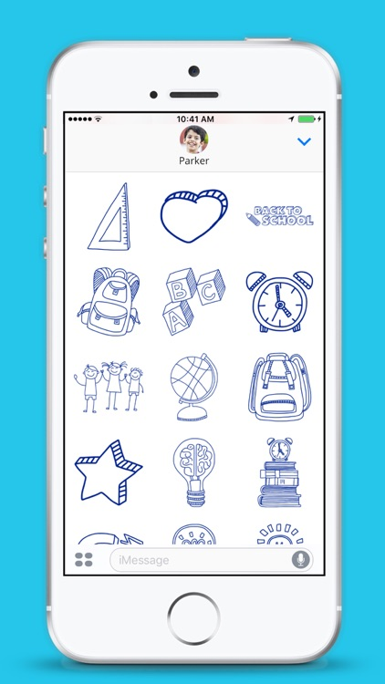 School Stickers - iMessage