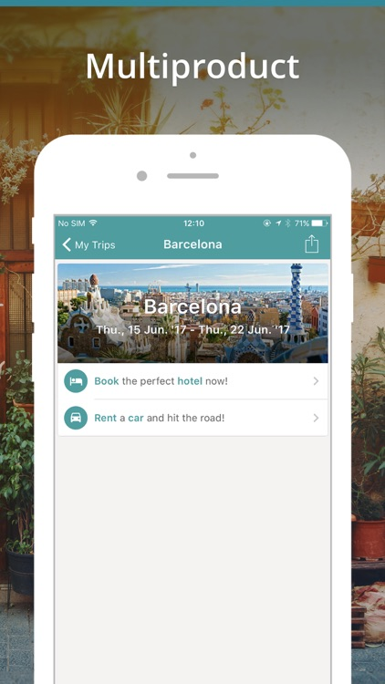 Travellink- Flights, Hotels screenshot-3