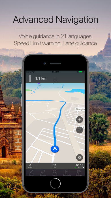 Myanmar Offline Navigation Screenshot