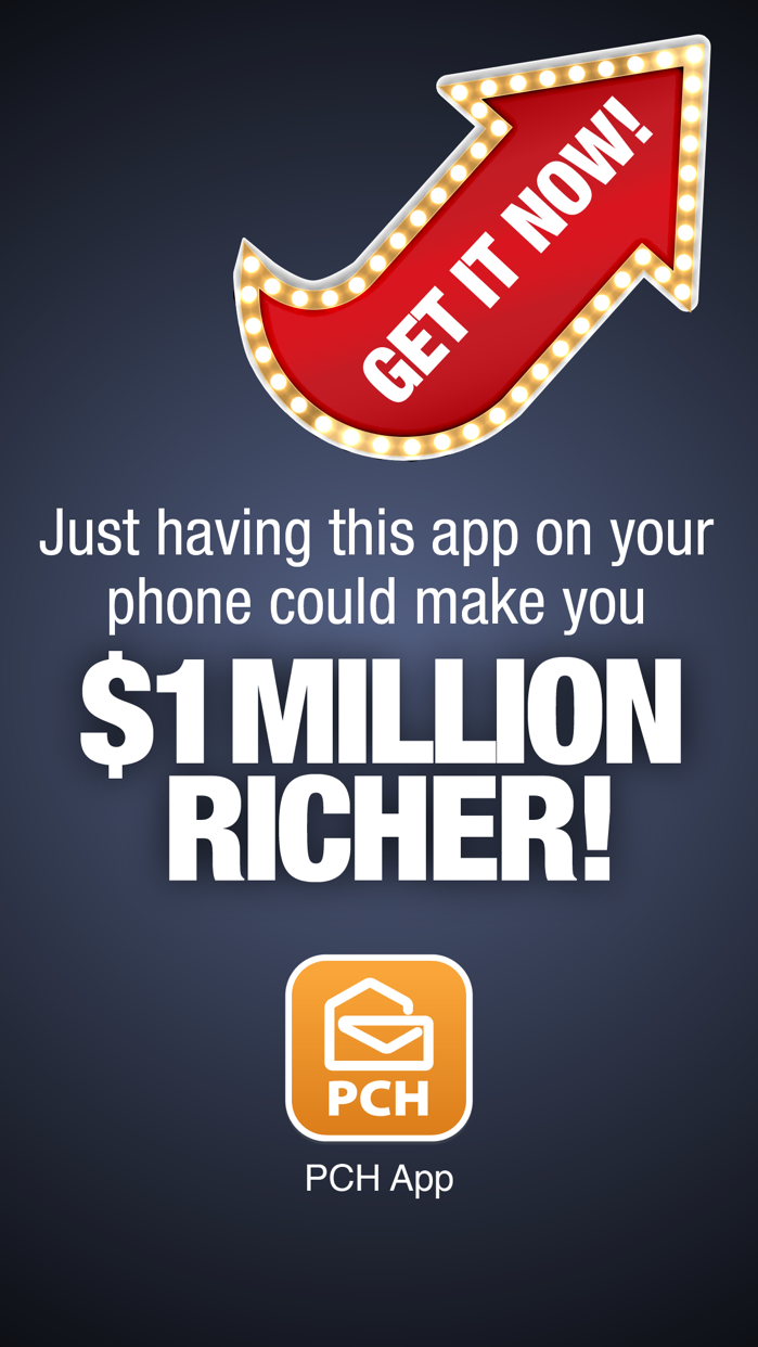 The PCH App Screenshot