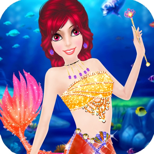Mermaid Games - Makeover and Salon Game