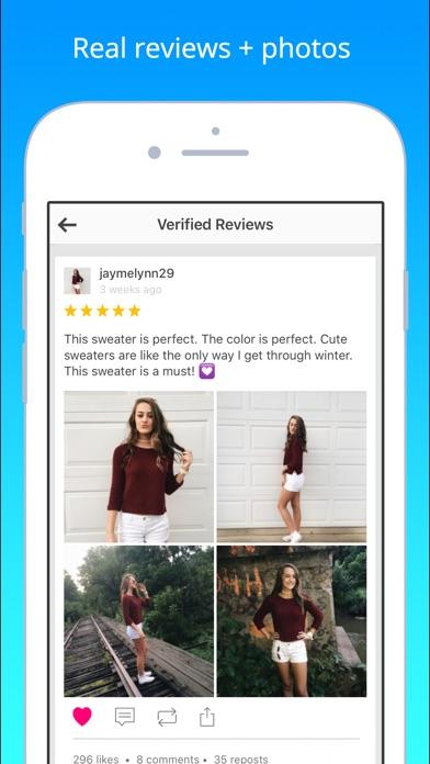 Wanelo review screenshots