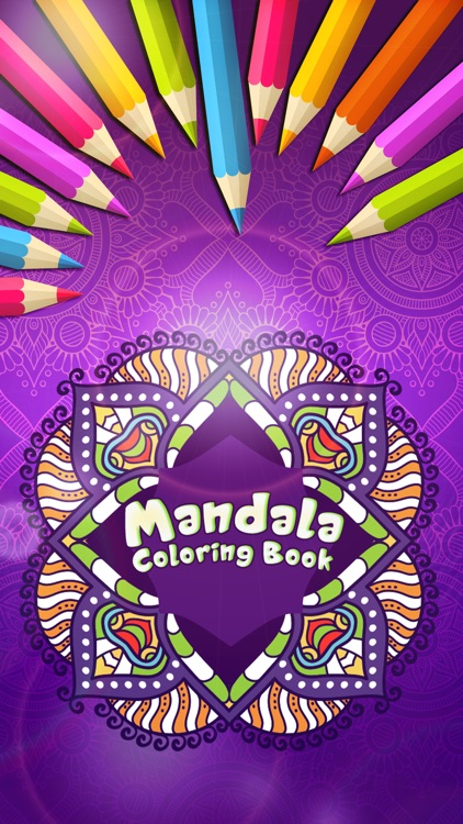 Mandala Draw Coloring Book