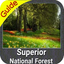 Superior National Forest gps and outdoor map