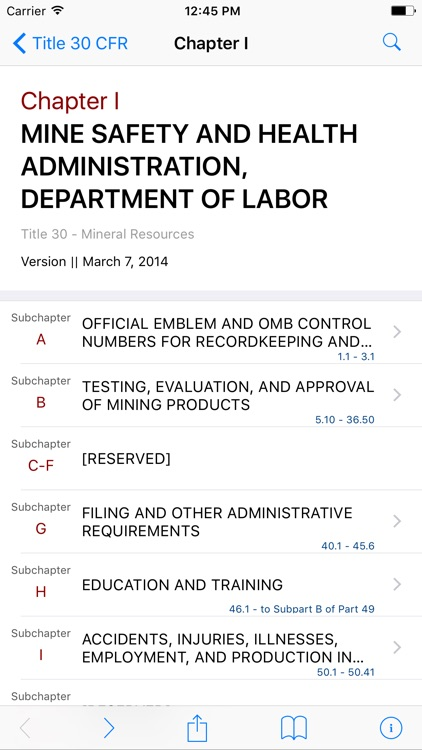 30 CFR by LawStack screenshot-1