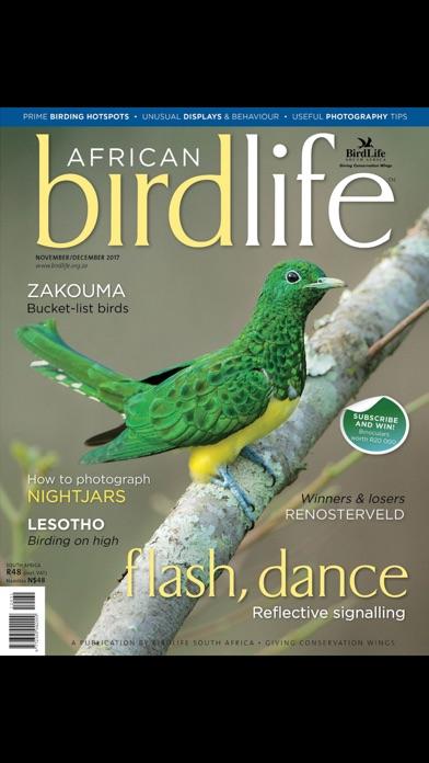 African Birdlife (Magazine) screenshot 1