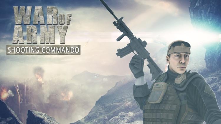 War of Army Shooter Commando screenshot-3