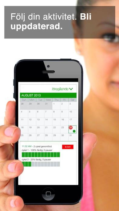 Screenshot for 7 Min Workout in Sweden App Store