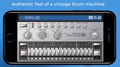 EGDR606 - 606 Drum Machine Screenshot 1