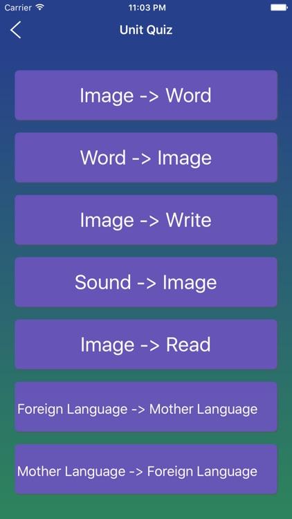 Italian Word Flashcards Learn screenshot-4