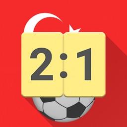 Live Scores for Super Lig 2017 / 2018 Football App