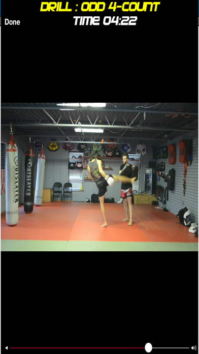 KoL Kickboxing Workout screenshot two