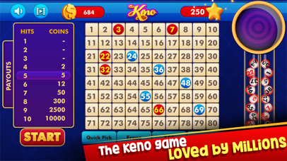 Keno: Lottery Casino Game screenshot two
