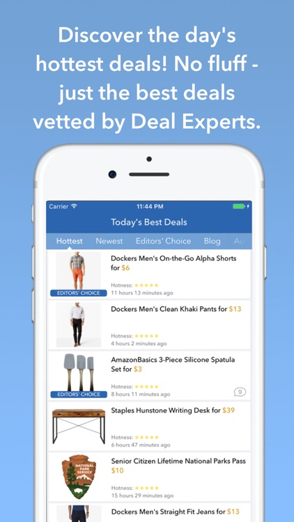 DealNews: Today's Top Deals, Sales and Coupons