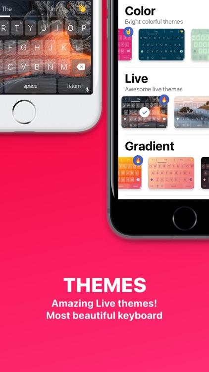 Keyboard plus language translation, Cool GIF Emoji