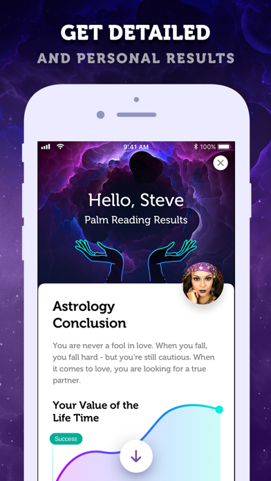 LIVE Palmistry & Horoscope Screenshot