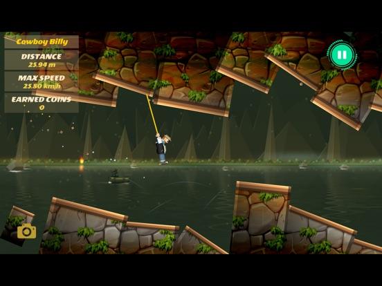 Rope Heroes : Hole Runner Game screenshot 8