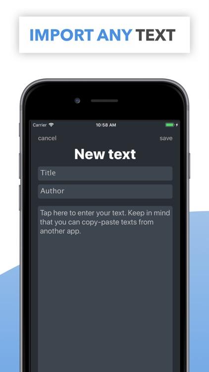 Memy – Memorize texts, lyrics screenshot-3