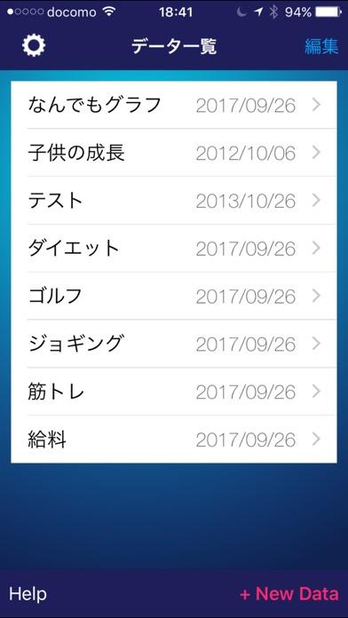 なんでもグラフ screenshot1