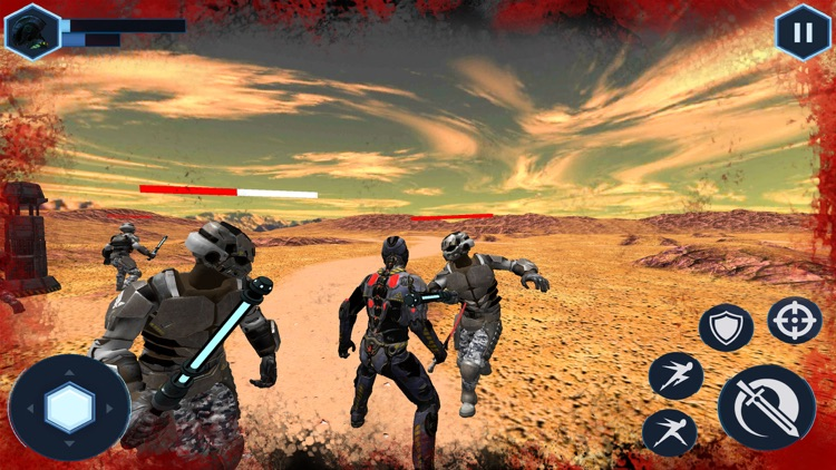 Space Cyborg-Sword Fighting 3D