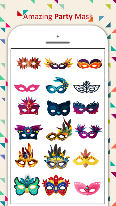 Party Mask Emoji screenshot 2