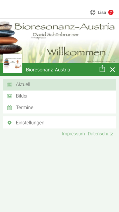 Bioresonanz-Austria screenshot 2