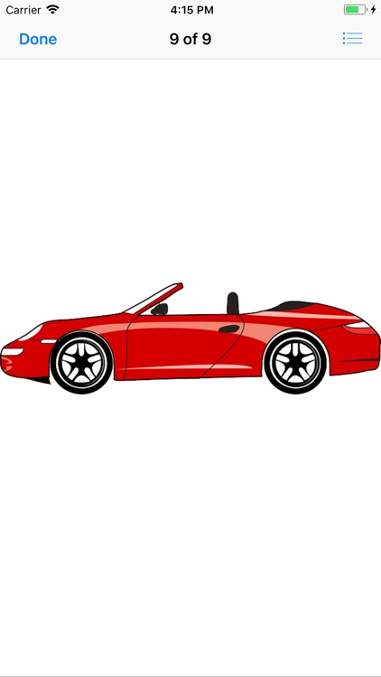Red Car Stickers screenshot-9