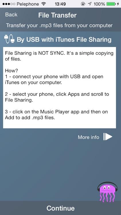 Jellyfish Music Player screenshot-3