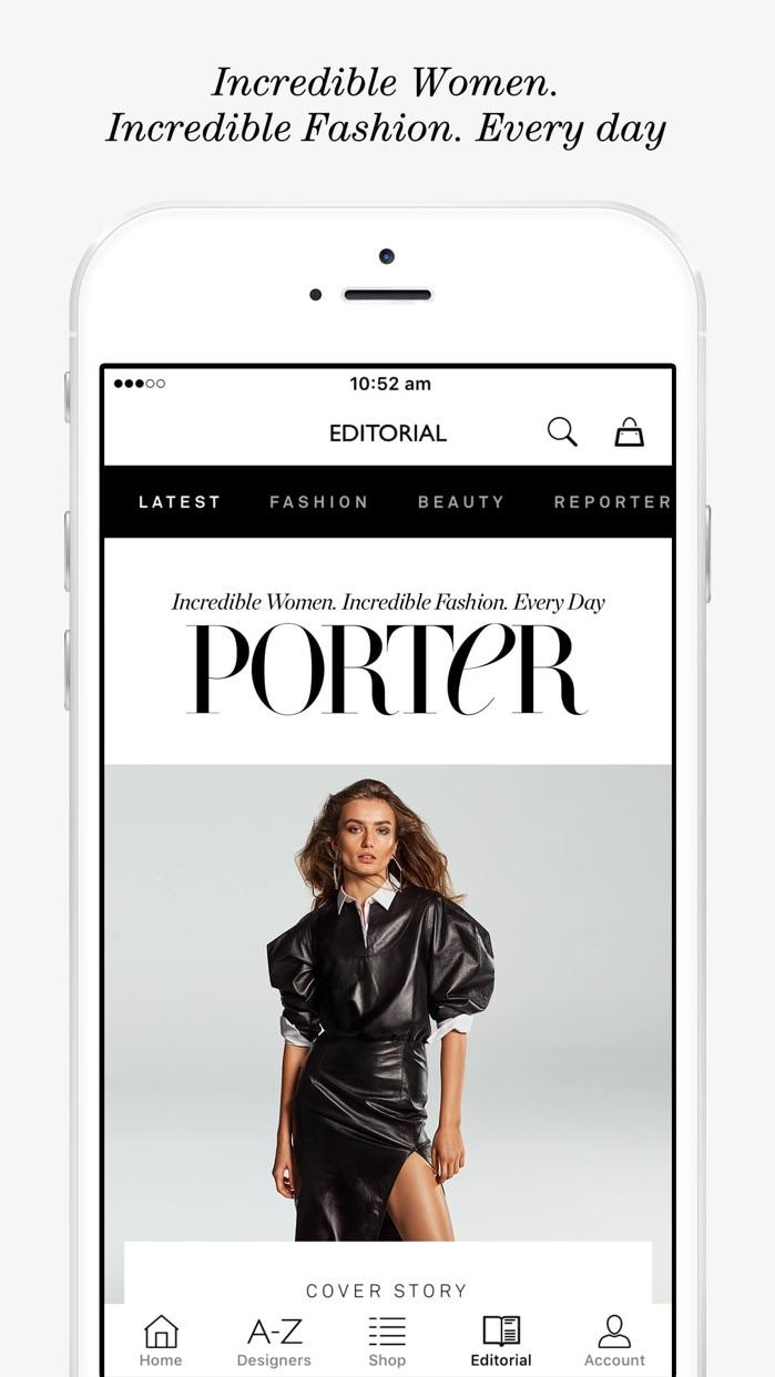 NET-A-PORTER: Designer Fashion Screenshot