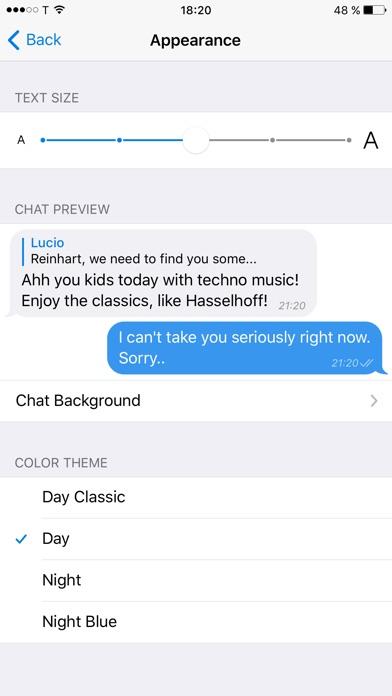 Screenshot for Telegram X in Lebanon App Store