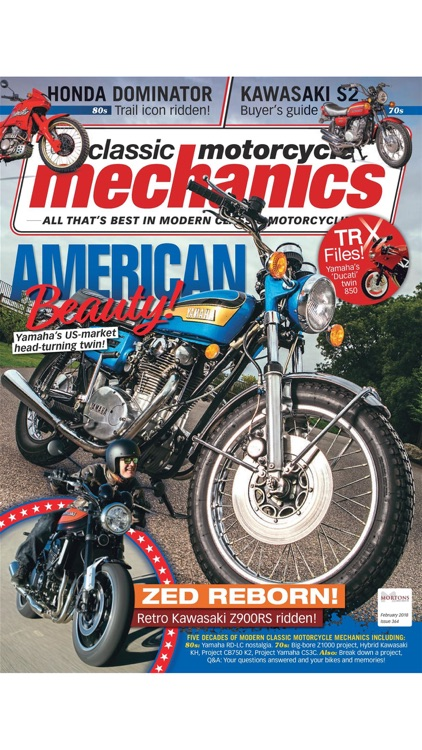 Classic Motorcycle Mechanics - Running, riding and repairing Japanese, European and American classics from the 70s, 80s and 90s.