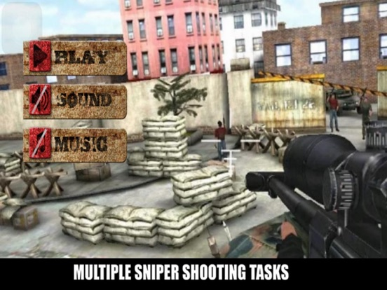 Sniper Street City Muti screenshot 5