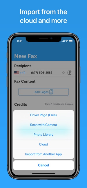 Free Fax App For Iphone