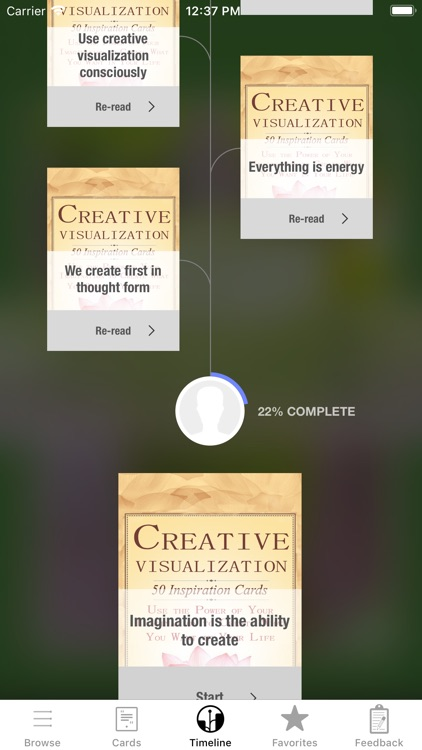 Creative Visualization Deck