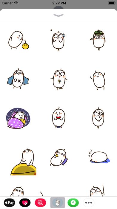 Egg Animated Stickers screenshot one