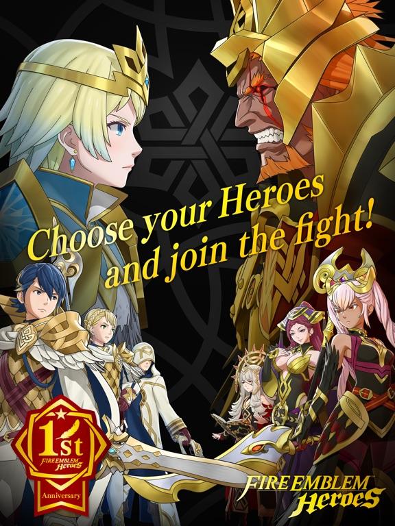 Fire Emblem Heroes iPad