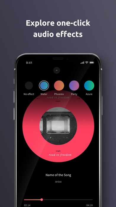 WHOOSHI Personal Audio Player screenshot four
