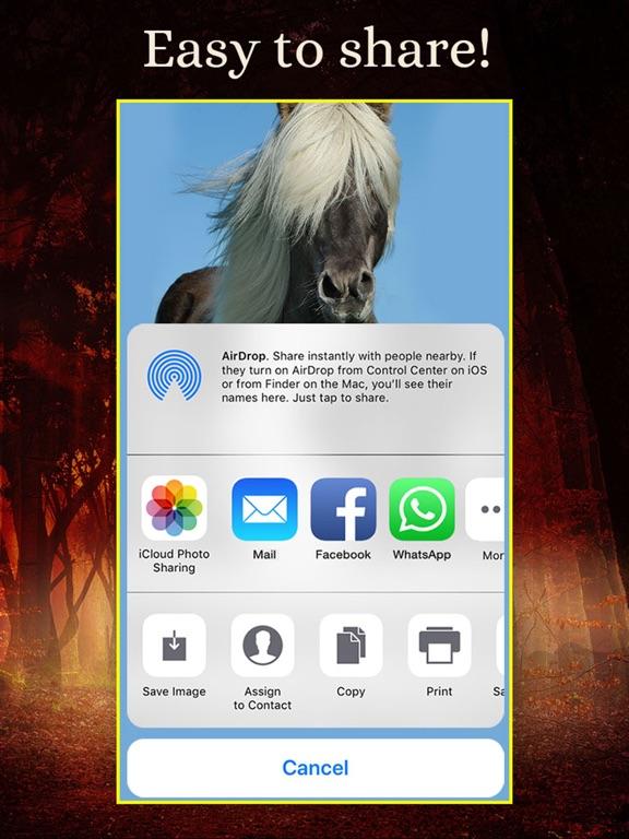 Horses - Wallpapers + Add Text screenshot 11