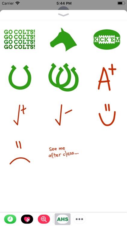 Arlington Colt Stickers