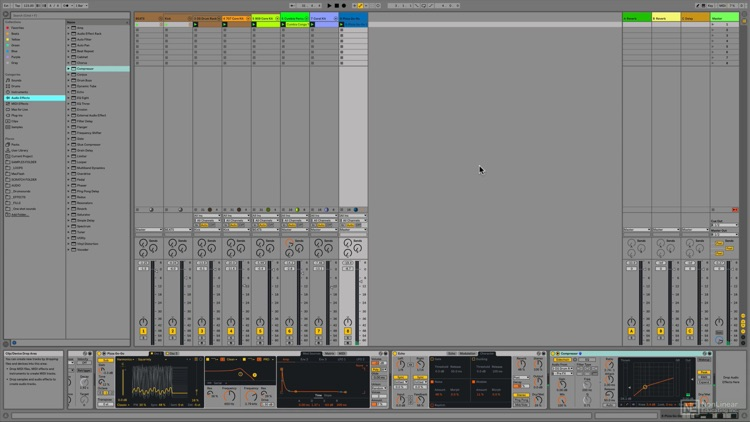 Track Course For Ableton Live