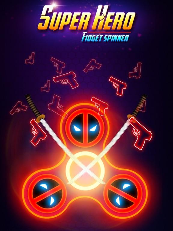 SuperHeroes Fidget Spinner screenshot #8